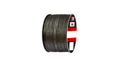 Teadit Style 2002 Carbon Yarn, Graphite Filled Packing,  Width: 1/8 (0.125) Inches (3.175mm), Quantity by Weight: 1 lb. (0.45Kg.) Spool, Part Number: 2002.125x1