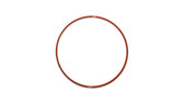 O-Ring, Clear PTFE PFA/FEP Encapsulated Orange Silicone Size: 435, Durometer: 70 Nominal Dimensions: Inner Diameter: 5 29/40(5.725) Inches (14.5415Cm), Outer Diameter: 6 11/40(6.275) Inches (15.9385Cm), Cross Section: 11/40(0.275) Inches (6.99mm) Part Number: ORTESI435