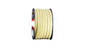 Teadit Style 2004 Braided Packing, Aramid Yarn, PTFE Impregnated Packing,  Width: 1/4 (0.25) Inches (6.35mm), Quantity by Weight: 2 lb. (0.9Kg.) Spool, Part Number: 2004.250x2