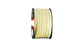 Teadit Style 2004 Braided Packing, Aramid Yarn, PTFE Impregnated Packing,  Width: 1/4 (0.25) Inches (6.35mm), Quantity by Weight: 25 lb. (11.25Kg.) Spool, Part Number: 2004.250x25