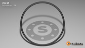 O-Ring, Black Viton/FKM Size: 127, Durometer: 75 Nominal Dimensions: Inner Diameter: 1 39/92(1.424) Inches (3.61696Cm), Outer Diameter: 1 17/27(1.63) Inches (4.1402Cm), Cross Section: 7/68(0.103) Inches (2.62mm) Part Number: ORVT127