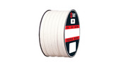 Teadit Style 2005 Braided Packing, PTFE Yarn, Dry Packing,  Width: 7/8 (0.875) Inches (2Cm 2.225mm), Quantity by Weight: 25 lb. (11.25Kg.) Spool, Part Number: 2005.875x25
