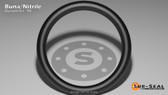 O-Ring, Black BUNA/NBR Nitrile Size: 442, Durometer: 90 Nominal Dimensions: Inner Diameter: 7 9/40(7.225) Inches (18.3515Cm), Outer Diameter: 7 31/40(7.775) Inches (19.7485Cm), Cross Section: 11/40(0.275) Inches (6.99mm) Part Number: OR90BLKBUN442