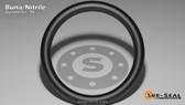 O-Ring, Black BUNA/NBR Nitrile Size: 448, Durometer: 90 Nominal Dimensions: Inner Diameter: 9 19/40(9.475) Inches (24.0665Cm), Outer Diameter: 10 1/40(10.025) Inches (25.4635Cm), Cross Section: 11/40(0.275) Inches (6.99mm) Part Number: OR90BLKBUN448