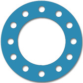 Teadit, NSF-61 SAN 1082, Full Face Gasket, Pipe Size: 14(14) Inches (35.56Cm), Thickness: 1/8(0.125) Inches (3.175mm), Pressure: 150# (psi), Inner Diameter: 14(14)Inches (35.56Cm), Outer Diameter: 21(21)Inches (53.34Cm), With 12 - 1 1/8(1.125) (2.8575Cm) Bolt Holes, Part Number: CFF1082.1400.125.150