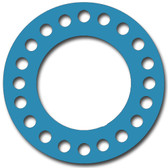 Teadit, NSF-61 SAN 1082, Full Face Gasket, Pipe Size: 16(16) Inches (40.64Cm), Thickness: 1/32(0.03125) Inches (0.79375mm), Pressure: 300# (psi), Inner Diameter: 16(16)Inches (40.64Cm), Outer Diameter: 25 1/2(25.5)Inches (64.77Cm), With 20 - 1 3/8(1.375) (3.4925Cm) Bolt Holes, Part Number: CFF1082.1600.031.300