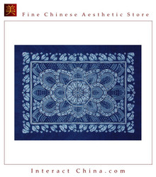 100% Hand Batik All Cotton 150x200 cm Table Cloth Cover Tapestry Throw Wall Decor #132