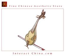 Uyghur Violin Fiddle Silk Road String Musical Instrument Xinjiang Music Khushtar 60cm