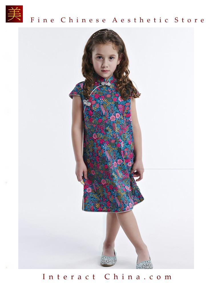 b99265aeb Handmade Girls Dress Chinese Cheongsam Qipao Children Kids Cotton Clothing  # 107. Price: All Inclusive: US$ 58. Image 1