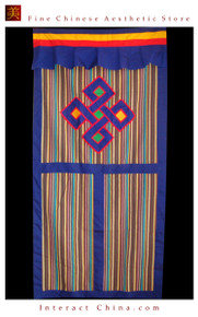 "100% Handcraft Cotton Tibetan Drape Door Panel Curtain 35x71"" Wall Hanging #106"