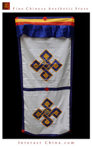 "100% Handcraft Cotton Tibetan Drape Door Panel Curtain 35x71"" Wall Hanging #114"