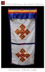 "100% Handcraft Cotton Tibetan Drape Door Panel Curtain 35x71"" Wall Hanging #115"