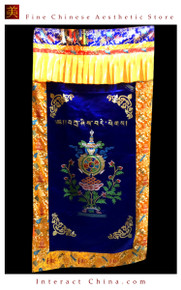"100% Handcraft Cotton Tibetan Drape Door Panel Curtain 35x71"" Wall Hanging #122"
