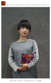 Boho Chic 100% Hand Embroidered Tribal Women Vintage Weekender Tote Shoulder Bag #105