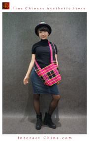 100% Handloom Woven Embroidery Fair Trade Bohemian Cotton Weekender Cross Body Tassel Decorative Bag #101