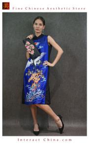 Hand Embroidered Vintage Women Leather Clutch Evening Bag Elegant Handbag for Dress and Party #101