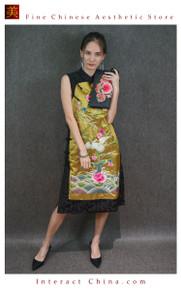 Hand Embroidered Vintage Women Leather Clutch Evening Bag Elegant Handbag for Dress and Party #102
