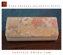 Deluxe Vintage Evening Clutch Bag 100% Handwoven Nishijinori Silk Brocade Wedding Purse Pochette #101