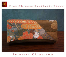 Deluxe Vintage Evening Clutch Bag 100% Handwoven Nishijinori Silk Brocade Wedding Purse Pochette #103