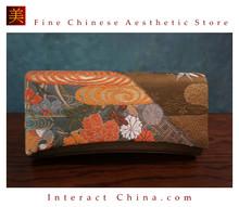 Deluxe Vintage Evening Clutch Bag 100% Handwoven Nishijinori Silk Brocade Wedding Purse Pochette #103