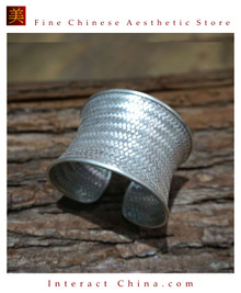 Fine 925 Cuff Bracelet Sterling Silver Jewelry 100% Handcrafted #104