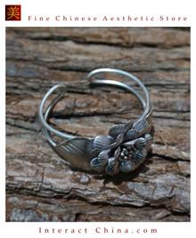 Fine 925 Cuff Bracelet Sterling Silver Jewelry 100% Handcrafted #105