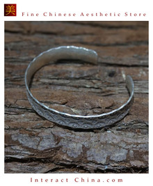 Fine 925 Cuff Bracelet Sterling Silver Jewelry 100% Handcrafted #107