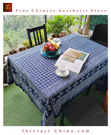 "100% Handcraft Batik Painting 59x101"" Tablecloth Home Wall Décor Hanging Art #105"