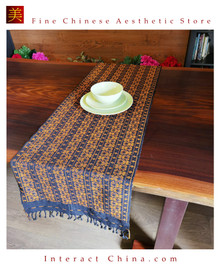 Handwoven Aka Tapestry Bohemian Chic Decor Kilim Rug Cotton 71x19'' Tablecloth Bed Runner ZQ101