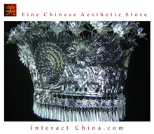 Silver Tiara Vintage Costume Tribal Jewelry 100% Handcrafted Jewellery Art #101M