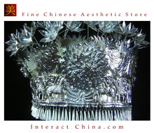 Silver Tiara Vintage Costume Tribal Jewelry 100% Handcrafted Jewellery Art #101S
