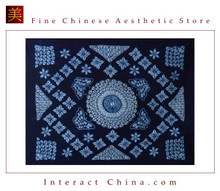 100% Handmade Batik Art Pure Cotton Bed Sheet Spread Linen Bedding - King #131
