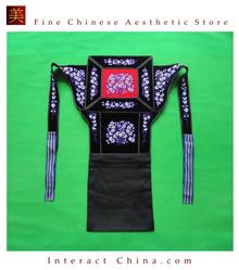 Genuine Mei Tai Baby Carrier 100% Handmade Art Front Back Sling Wrap Podaegi #154