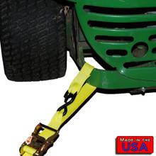 """ATV 2"""" Ratchet Strap S-hook&Soft Loop/S-hook 10' 833#WLL"""