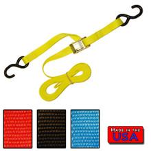"""1"""" x 8' Cam Buckle Strap S-hook/S-hook  500#WLL"""
