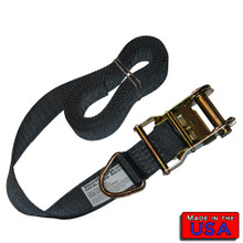 "2"" Ratchet Strap Endless Loop w/ Ring  10' 1466#WLL"