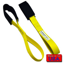 Softloop handlebar straps with Cordura Sleeve 3k Break Made in USA 100% polyester