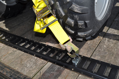Fixed End Snap hook on ATV strap
