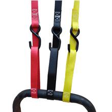 """1"""" x 8' Cam Buckle Strap S-hook/S-hook w/SoftLoop  500#WLL"""