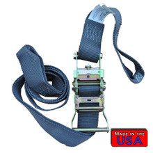 "2"" Ratchet Strap Small Loop 10' 1466#WLL"