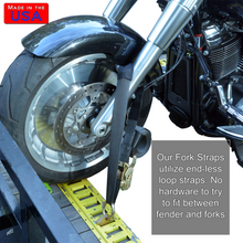 Motorcycle Fork Straps