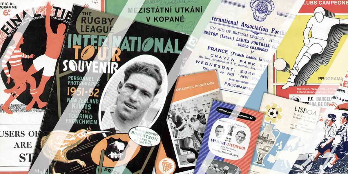 Sporting Greats Big Match Programmes