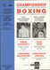 original programme for Bantamweight and Flyweight Title fights Drew Docherty V Vincenzo Belcastro and Paul Weir V Josue Camacho held at the Kelvin Hall, Glasgow on 2 February 1994.