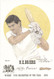 portrait of Nigel Briers, Leicestershire, Wisden cricketer of the year 1993. The artwork is by official Wisden artist Denise Dean and is issued as a limited edition of 150, this being 98.