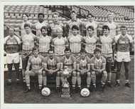 Shrewsbury Town Official Club Issued Team Photograph Signed by 18 Season 1985-86