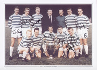 European Champions, Celtic after they had beaten Inter Milan in the 1967 European Cup Final.