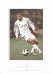 Ronaldo in action for Real Madrid 2002