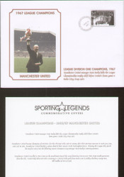 commemorative cover to celebrate Manchester United 1967 League Champions.