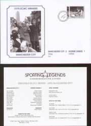 commemorative cover to celebrate Manchester City 1970 European Cup Winners Cup Winners.