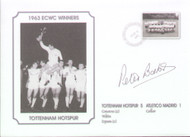 Signed commemorative cover produced to celebrate Tottenham Hotspur 1963 European Cup Winners Cup Winners.